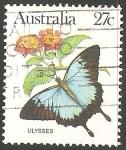 Sellos de Oceania - Australia -  Ulises