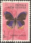Stamps Papua New Guinea -   Terinos alurgis