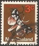 Sellos del Mundo : Oceania : Nueva_Zelanda : Linchen moth