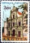 Stamps : Africa : Angola :  Intercambio 0,20 usd 2,50 esc. 1963