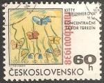 Sellos de Europa - Checoslovaquia -  Dibujos de niños