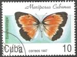 Sellos de America - Cuba -  Mariposas cubanas