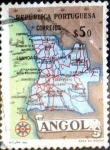 Sellos del Mundo : Africa : Angola : Intercambio 0,20 usd 0,50 esc. 1955