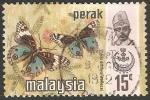 Sellos del Mundo : Asia : Malasia : precis orithya wallacei