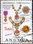 Sellos de Africa - Angola -  Intercambio agm2 0,20 usd 2,50 esc. 1967