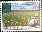 Sellos del Mundo : Africa : Angola : Intercambio 0,35 usd 2,50 esc. 1970