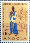 Stamps : Africa : Angola :  Intercambio agm2 0,20 usd 0,10 esc. 1957