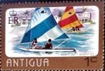 Stamps : America : Antigua_and_Barbuda :  Intercambio 0,25 usd 1 cent. 1976