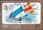 sello : America : Antigua_y_Barbuda : Intercambio 0,25 usd 1 cent. 1976