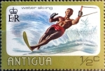 Stamps : America : Antigua_and_Barbuda :  Intercambio 0,25 usd 1/2 cent. 1976