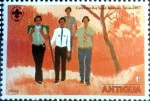 Sellos de America - Antigua y Barbuda -  Intercambio crxf2 0,20 usd 1 cent. 1977