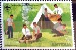 Sellos de America - Antigua y Barbuda -  Intercambio 0,20 usd 1/2 cent. 1977