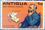 Sellos de America - Antigua y Barbuda -  Intercambio nfyb2 0,20 usd 1 cent. 1976