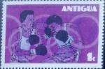 Stamps : America : Antigua_and_Barbuda :  Intercambio agm2 0,20 usd 1 cent. 1976