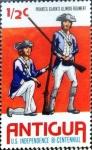 Stamps : America : Antigua_and_Barbuda :  Intercambio 0,20 usd 1/2 cent. 1976