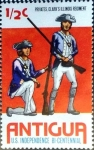 Stamps : America : Antigua_and_Barbuda :  Intercambio 0,20 usd 1/2 cent. 1976