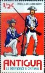 Stamps : America : Antigua_and_Barbuda :  Intercambio agm2 0,20 usd 1/2 cent. 1976