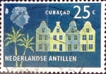 Sellos de America - Antillas Neerlandesas -  Intercambio nf4b1 0,20 usd 25 cent. 1958