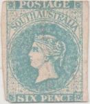Stamps Australia -  Y & T Nº 1a South