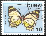 Sellos de America - Cuba -  Mynes sestia