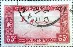 Stamps : Africa : Algeria :  Intercambio 0,20 usd 65 cent.  1937