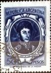 Sellos de America - Argentina -  Intercambio 0,20 usd 50 pesos 1967