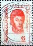 Sellos de America - Argentina -  Intercambio 0,20 usd 6 pesos 1974