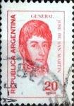 Sellos de America - Argentina -  Intercambio 0,20 usd 20 pesos 1977
