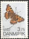 Stamps Denmark -  naeldens takvinge -Pequeña concha