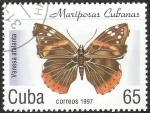 Sellos de America - Cuba -  Vanessa atalanta