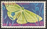 Sellos del Mundo : Africa : Guinea_Ecuatorial : phalene de la clematite