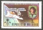 Stamps : Asia : Maldives :  500 Anivº del nacimiento de Nicolás Copérnico