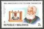 Stamps : Asia : Maldives :  Alejandro Graham Bell