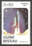 Stamps Guinea Bissau -  Cosmonaútica