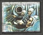 Stamps : Africa : Equatorial_Guinea :  Volkov, Dobrovolsky y Patsayev, por la conquista espacial
