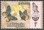 Sellos del Mundo : Asia : Malasia : Delias ninus