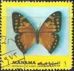 Sellos del Mundo : Asia : Bahrein : Mariposa
