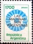 Sellos de America - Argentina -  Intercambio crxf2 0,20 usd 1700 pesos 1981
