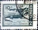 Sellos de America - Argentina -  Intercambio 0,20 usd  10 cent. 1959