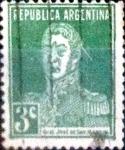 sellos de America - Argentina -  Intercambio 0,25 usd 3 cent. 1923