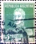 Stamps Argentina -  Intercambio 0,25 usd 3 cent. 1923