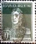 Sellos de America - Argentina -  Intercambio 0,25 usd 10 cent. 1923