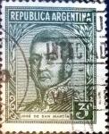 Sellos de America - Argentina -  Intercambio 0,20 usd 3 cent. 1935