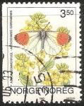 Sellos del Mundo : Europa : Noruega : Anthocharis cardamines