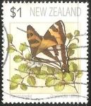 Stamps New Zealand -  Dodonodia helmsii