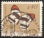 Stamps : Africa : Mozambique :  Mariposa