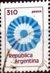 Stamps : America : Argentina :  Intercambio nfb 0,20 usd 310 pesos. 1979