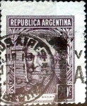 Sellos de America - Argentina -  Intercambio 0,20 usd 20 cent. 1956