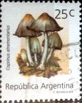 Sellos de America - Argentina -  Intercambio 0,35 usd 25 cent. 1992