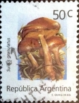 Stamps : America : Argentina :  Intercambio daxc 0,90 usd 50 cent. 1992